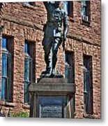 001 American Doughboy Over The Top To Victory Metal Print