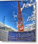 001 Building Buffalo  Metal Print