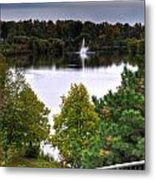 001 Hoyt Lake Autumn 2013 Metal Print