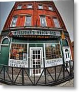 001 Mulligans Brick Bar Metal Print