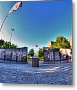 001 We Will Not Forget At The Erie Basin Marina Metal Print