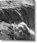 0010a Niagara Falls Winter Wonderland Series Metal Print