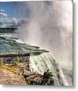 0011 Niagara Falls Misty Blue Series Metal Print