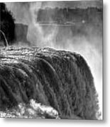 0011a Niagara Falls Winter Wonderland Series Metal Print