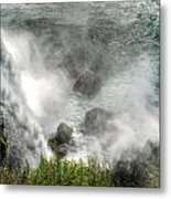 0012 Niagara Falls Misty Blue Series Metal Print