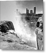 0014a Niagara Falls Winter Wonderland Series Metal Print