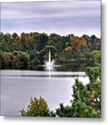 0015 Hoyt Lake Autumn 2013 Metal Print