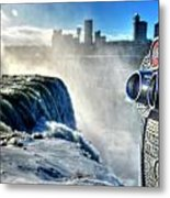 0016 Niagara Falls Winter Wonderland Series Metal Print