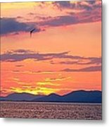 0016233 - Patras Sunset Metal Print