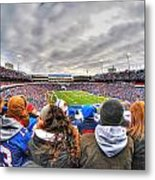 0017 Buffalo Bills Vs Jets 30dec12 Metal Print