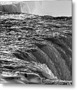 0017a Niagara Falls Winter Wonderland Series Metal Print