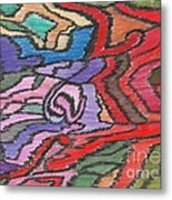 0018 Influences Metal Print
