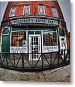 002 Mulligans Brick Bar Metal Print