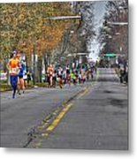 002 Turkey Trot  2014 Metal Print