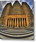 0021 Approaching Our City Hall Metal Print