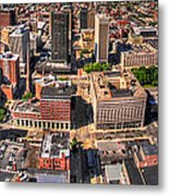 0023a Visual Highs Of The Queen City Metal Print