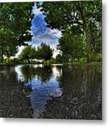 003 After The Rain At Hoyt Lake Metal Print