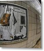 0035 Throwback Shopping Center Of Am And As Metal Print