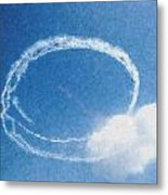 0036 - Air Show - Pastel Chalk Metal Print