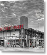 0038 Milwaukee Public Market Metal Print