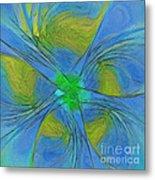 004 Abstract Metal Print