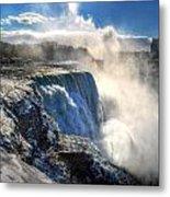 004 Niagara Falls Winter Wonderland Series Metal Print