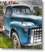 0042 Old Blue 2 Metal Print