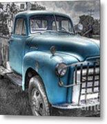 0043 Old Blue Metal Print