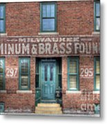 0044 Foundry Building Metal Print