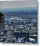 0045 After The Nov 2014 Storm Buffalo Ny Metal Print