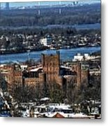 0048 After The Nov 2014 Storm Buffalo Ny Metal Print