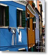 0049 Burano Colors 4 Metal Print
