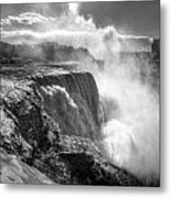 004a Niagara Falls Winter Wonderland Series Metal Print