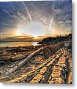 005 After The Ice Melts Erie Basin Marina Series Metal Print