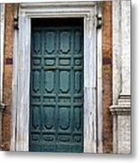 0053 Roman Door 2 Metal Print