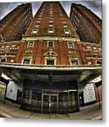 006 The Statler Towers Metal Print
