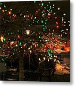 007 Christmas Light Show At Roswell Series Metal Print