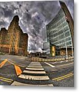 007 City Hall And The Court House Metal Print