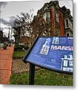 007 Mansion On Delaware Ave Metal Print