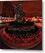 009 Christmas Light Show At Roswell Series Metal Print