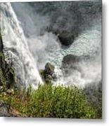 009 Niagara Falls Misty Blue Series Metal Print