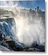 009 Niagara Falls Winter Wonderland Series Metal Print