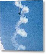 0107 - Air Show - Pastel Chalk 2 Hp Metal Print