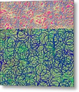 0122 Abstract Thought Metal Print