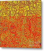 0124 Abstract Thought Metal Print