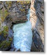 0142 Athabasca River Canyon Metal Print