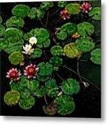 0151-lily -  Watercolor 1 Sl Metal Print