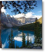 0164 Moraine Lake Metal Print