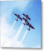 0166 - Air Show - Acanthus Metal Print