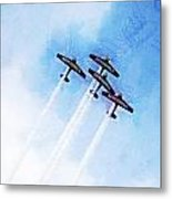 0166 - Air Show - Lux Metal Print